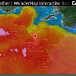 Radar mostra tempestade nos Campos Gerais e na RMC muita #Chuva p #Curitiba nas próximas horas @plantao190 #chuvitiba http://t.co/nCPlik9qCM
