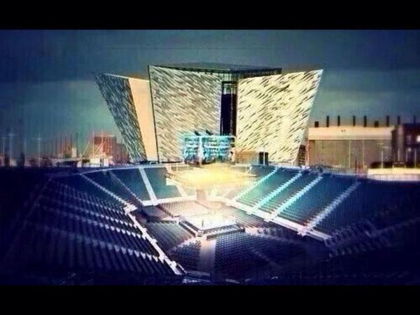 It's gonna be special for those going on Saturday!!! Good luck @RealCFrampton Future world champion @TitanicBelfast http://t.co/r3ETApimzx