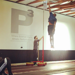 "RT @BleacherReport: Jazz's Jeremy Evans broke his own record by touching 12'9"" at P3 Sports Science Institute http://t.co/b2FFRfagNC http://t.co/yioecQkEvs"