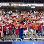 Gran día en el Palacio animando a @ElPozoMurcia_FS que tanto nos apoyó este verano #MurcianistasconElPozo http://t.co/KwQ4PnTa6N