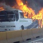 RT @ElUniversal: Incendio de colectivo en Km 8 de la Panamericana genera caos vehicular http://t.co/ZAyPbuskzP http://t.co/rwpcs2GYdB