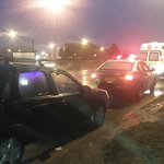 Triple colisión por alcance deja joven mujer lesionada, frente a rotonda del Bombero. @juancarlospolar #puq http://t.co/q40YIjyzzg