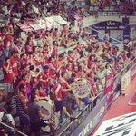 RT @11miguelin11: Jamás nos dejan solos! Menos en los momentos más difíciles! Como siempre gran ambiente en el palacio de los deportes. http://t.co/tCdAVOV1pZ
