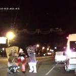RT @folha_com: Bob Esponja e Mickey protagonizam a mais bizarra briga de trânsito da história. http://t.co/qRVNp2mDzk http://t.co/Q6db3blsej