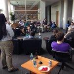 RT @VentureCenter: Annemarie Dillard speaking about innovation strategy at #DrinkIT #aridea http://t.co/obSQqXJlXh