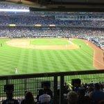 Go Sox. @maxbulger is a big fan :) (@ Yankee Stadium - @mlb for Red Sox vs Yankees) https://t.co/eAw5b7H86U http://t.co/hkhGHJETYA