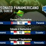 RT @tvnnoticias: Foto: Partidos de #Panamá en el Campeonato Panamericano de Béisbol Sub-18 #Béisbol #Deportes http://t.co/2XtH8junl3