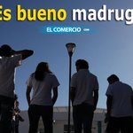 RT @elcomerciocom: ¡Cientificamente comprobado! Madrugar no es beneficioso para los estudiantes » http://t.co/RrlbQj41m0 http://t.co/HDKa0iNzBw