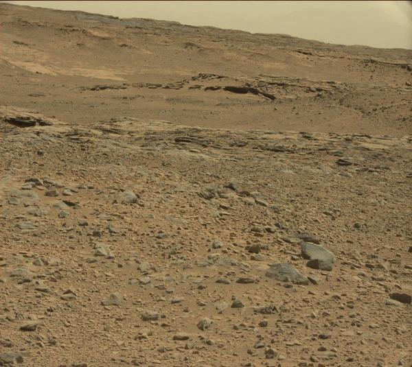 Head for the hills! I'm driving towards these hills on Mars to do geology work & also search for clouds. http://t.co/qscPmVbCus