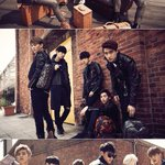 """""""@kor_celebrities: EXO、「MCM」 AW14シーズン広告キャンペーン http://t.co/nnFXyiIKX4"""" マフィア????????"""