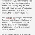 My explanation of why Erk and GATA belong to Georgia Southern. Eat your heart out Georgia fans. http://t.co/3vhM6kncZx