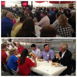 RT @AsaHutchinson: Packed house in Morrilton tonight! Great to be here eating some good spaghetti! #ARGov http://t.co/U6nDrEgLQ4