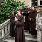 I'm in England this week shooting #Galavant, ABC's new medieval comedy musical TV series (coming in January). #Monks http://t.co/AYKZgrIH3D