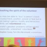 RT @s_mcleodnz: Engage and unleash the volunteer #APACForum http://t.co/DQq2sjoG0h