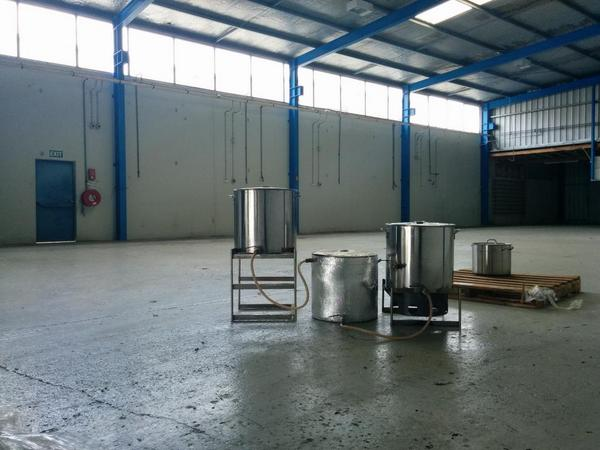 Wohoo, got ourselves a brewery! Time to make some beer http://t.co/o8CDF5vBTn