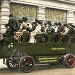 "RT @NewYorkologist: ""Seeing New York"" Open Air Tour Bus, 1906 