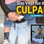RT @elcomerciocom: [ÚLTIMO MINUTO] Glas Viejó fue declarado culpable por delito de violación » http://t.co/eP6BjKmOay http://t.co/XtV0XqFw7H