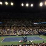 RT @oneandonlycory: Gorgeous night under the lights... #nyc #USOpen #tennis http://t.co/8Bd410Tt9i