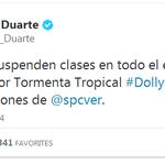 #Dolly #Veracruz Anuncian suspensión de clases por mal tiempo. http://t.co/OYl23WVplE
