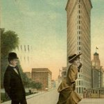 23 Skidoo! Ankle Watching in Flatiron District on a Windy Day | #NYC #NY http://t.co/vyY1k4xePe