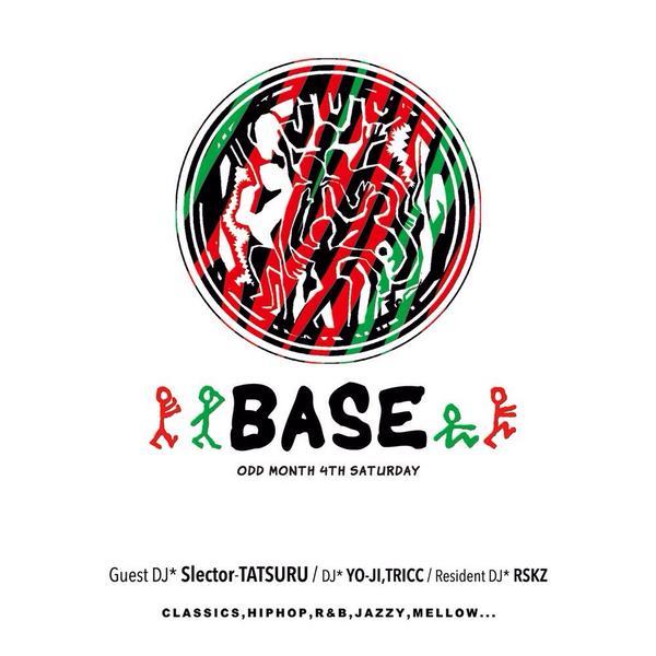 vol.5はこの面子で♪9/27(土) BASE @kofu_juju GuestDJ @SelectorTATSURU DJ @yygyyg0301 @TRICCxxx @DJRSKZ #base_juju http://t.co/HkkHSsJUeH