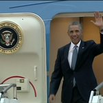 RT @BBCBreaking: President Obama has just landed in Estonia for Ukraine crisis talks ahead of Nato summit http://t.co/fJtr0ZYkic http://t.co/mXwyody0FB