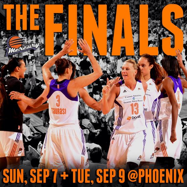 FINAL: Mercury 96, Lynx 78! See you in the @WNBA Finals! http://t.co/FE6rInkWjw