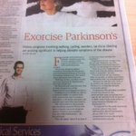 Thanks to @thewest_com_au for todays feature on Parkinsons and exercise. Good pun too! Did you see it? http://t.co/nmvgACOBx8