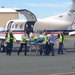 A 32-year-old man suffering serious head injuries has been airlifted from Meekatharra to Perth. Details @9NewsPerth http://t.co/rEGWRX92Wd