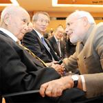 SEEN EARLIER: PM #Modi met 99-year-old Saichiro Misumi, one of the associates of Subhash Chandra Bose, in Tokyo. http://t.co/Zc0nMsqXNi