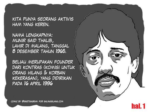 [Komik] #10tahunMunir hal. 1 | @KontraS #MasJokoBeraniNggak http://t.co/3XBbV3SZNS