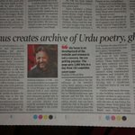 Article about @Rekhta in todays @timesofindia Noida/Ghaziabad Edition. http://t.co/XtRkDPR4oZ