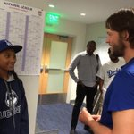 RT @SportsCenter: Awesome moment after the Dodgers game tonight when Mone Davis got to meet her idol, Clayton Kershaw. (via @Dodgers) http://t.co/04FS0iAOUo