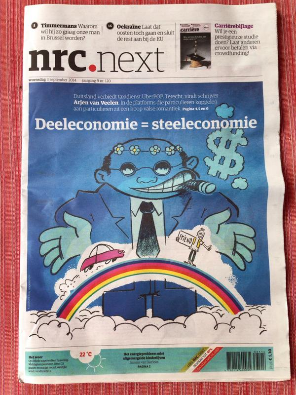 Deeleconomie = steeleconomie in nrcnext vandaag http://t.co/WJLob4oKAT
