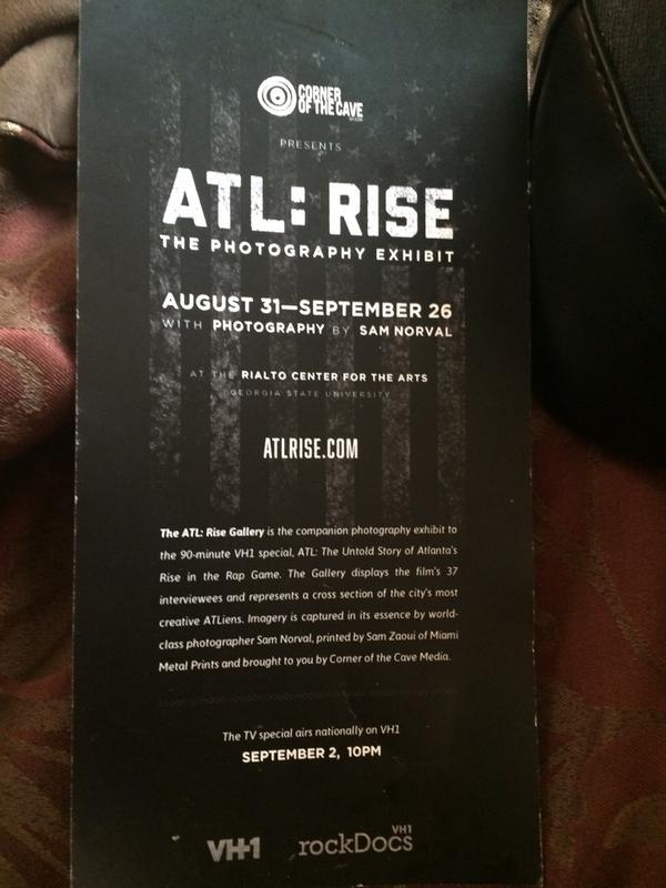 If you enjoyed #ATLRise you should check out this photography exhibit. http://t.co/xjY9zW6Xkm