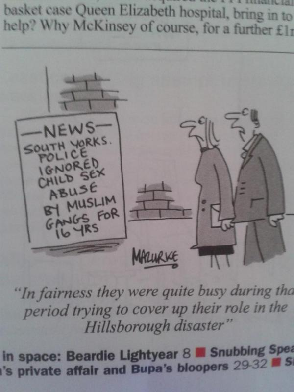 """Brilliant @PrivateEyeNews cartoon sums up catastrophic results of police obsession w """"reputation management"""". http://t.co/NMvmFtojLE"""