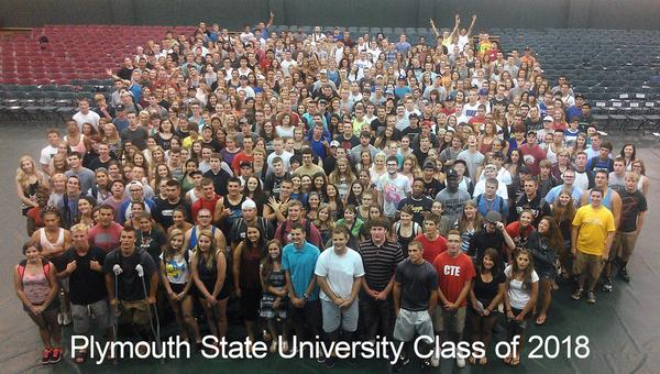 The Plymouth State University Class of 2018! #plymouthstate http://t.co/N7EKk7C74B