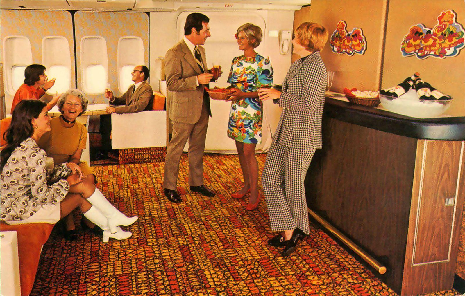 The inside of a 747 jumbo jet in the 70's http://t.co/9jf8nyJYdg