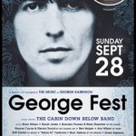 RT @DhaniGeorgelove: Look everybody... #GEORGEFEST !! I WANNA GO SO BAD!! Sept 28 #elrey #LA #WeirdAl @thenewno2 @BrianWilson38 @Weezer htt…