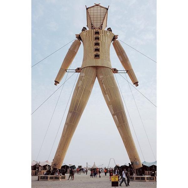 The Man. #burningman http://t.co/PruG3YIfyU http://t.co/wClwQSlA9d