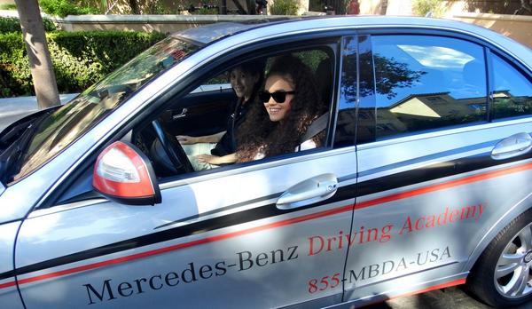 """@madisonpettis: Learning from the best to get my license! http://t.co/2ZiINIGafm"" You know the rules football helmet must be on for safety"