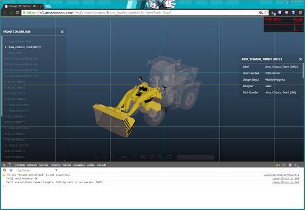 .@autodesk officially released A360 and the viewer with #threejs http://t.co/TpCROmlvLf http://t.co/shTvawgj2P