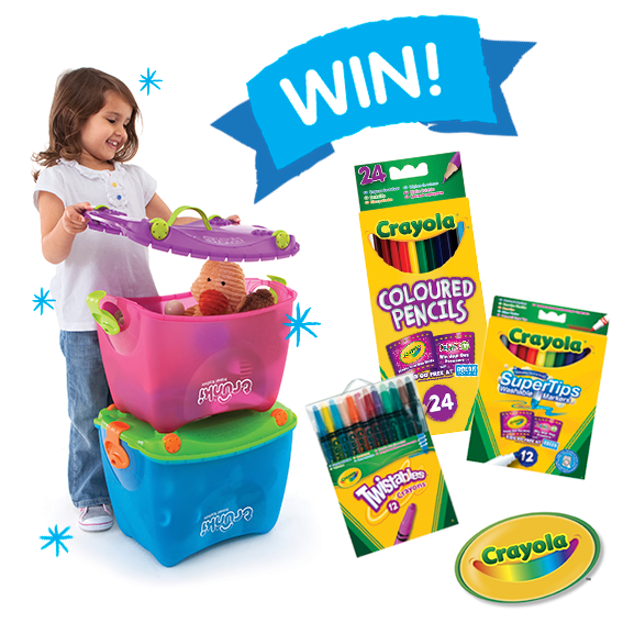 Get the kids organised with our  #BackToSchool competition to win 2 Trunki ToyBoxes & Crayola goodies @VividToyGroup http://t.co/l9iqzEtiDT
