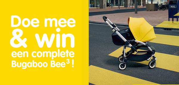 Wow, wij mogen een complete  #Bugaboo Bee³ weggeven! Lees hier hoe jij kans maakt: http://t.co/ybJF4Fs4Z6 #winactie http://t.co/rDrLEfSUtu