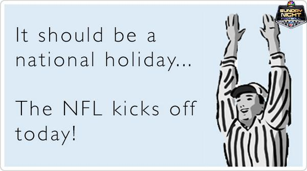 Today should honestly just be a national holiday! #Kickoff2014 http://t.co/g1PvMV6dGJ