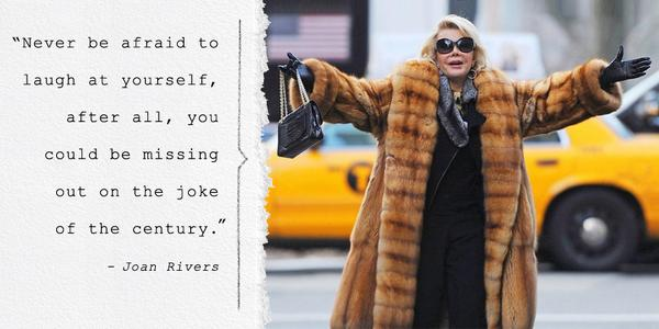 You'll always be the most stylish comedian around. #RIPJoanRivers http://t.co/6UohO7QTwp