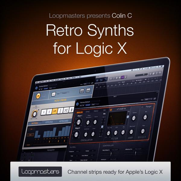 Out Today at @Loopmasters, my Retro Synth presets for #LogicProX!  http://t.co/0BSJyzVWZ7 #MusicProduction #edm http://t.co/8HoLlqtxt1