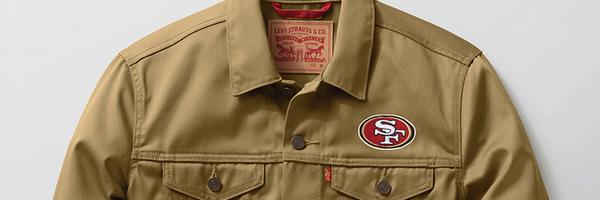 Pride in every stitch. The #LevisX49ers collection is here for all you @49ers fans. Get yours> http://t.co/5QanO0uixf http://t.co/8xcj3FlIHU