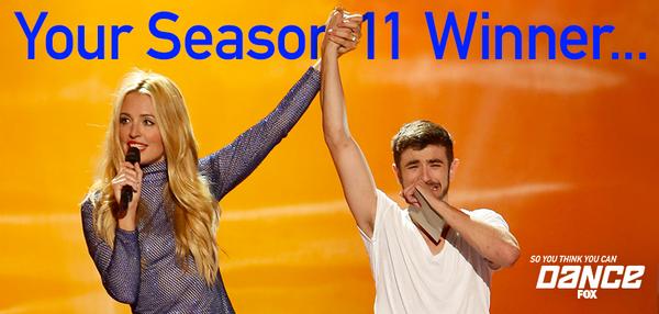 Congratulations to the winner of #SYTYCD Season 11, @RickyUbeda11! http://t.co/tKYi1BrlXu