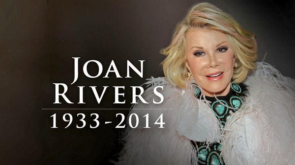A comic legend & a no nonsense kind of gal! Joan Rivers will be missed! http://t.co/iVg5ADkTfx http://t.co/dEIDFPZZ3j